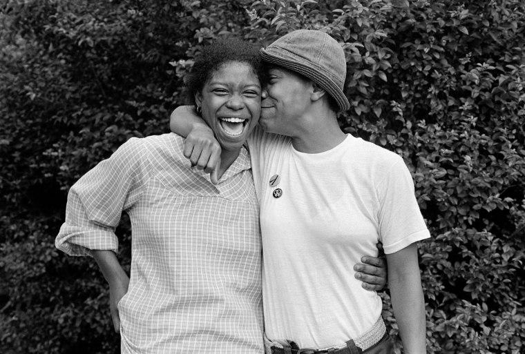 Gloria and Charmaine. Baltimore, 1979.