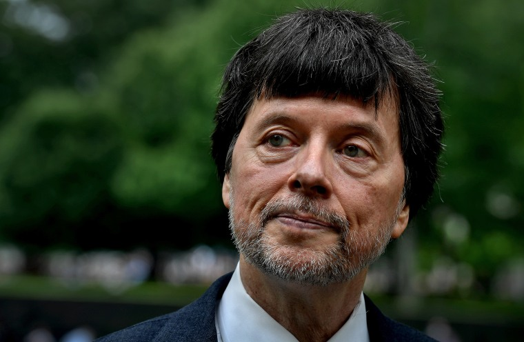 Image: Documentary filmmaker Ken Burns