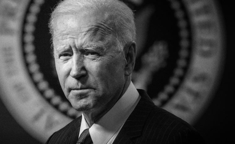 Image: President Joe Biden at the White House on Feb. 10, 2021.