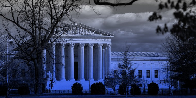 Image: The Supreme Court of the United States is seen from across the Capitol Complex.