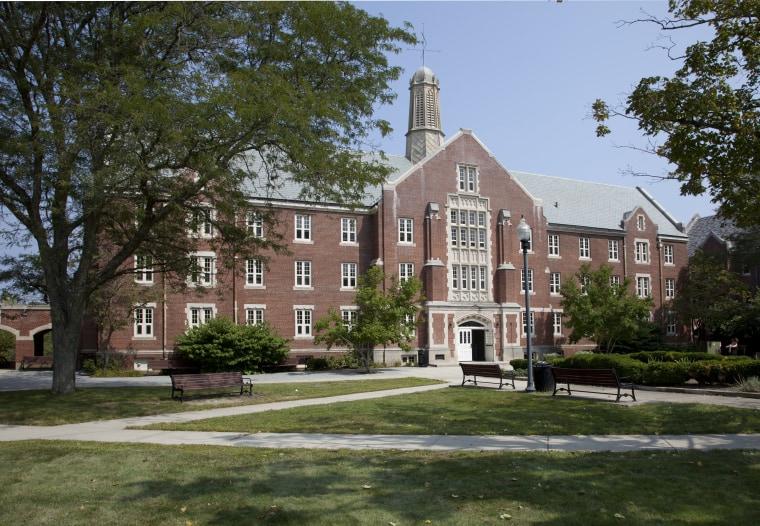 Image: University of Connecticut (UConn) main campus, Storrs, Connecticut