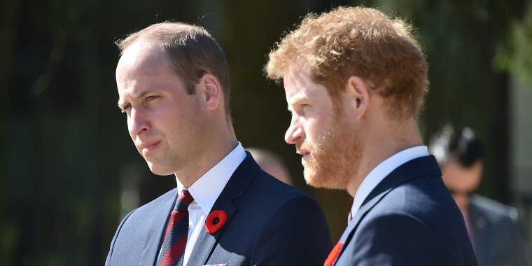 """Prince William and Prince Harry have """"some very deep risk factors"""" for sibling estrangement, author says."""