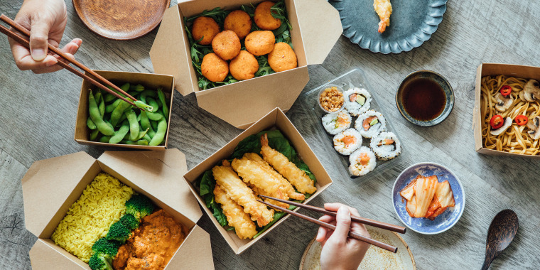 Sustainability experts share tips for making your takeout order less wasteful.