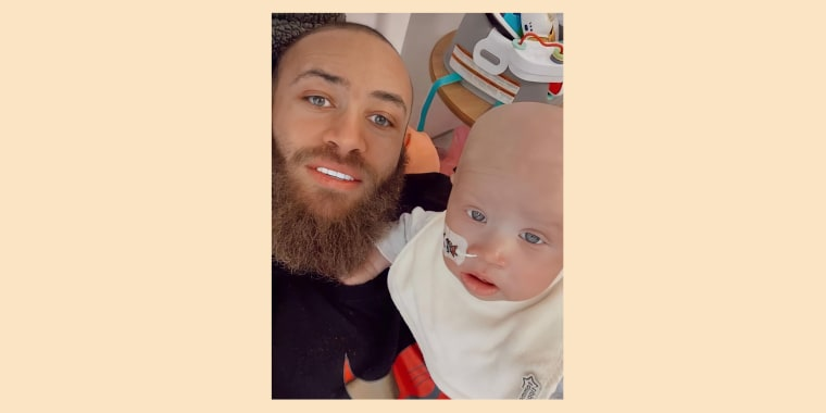 Ashley Cain had been sharing his infant daughter's cancer journey on his Instagram page.