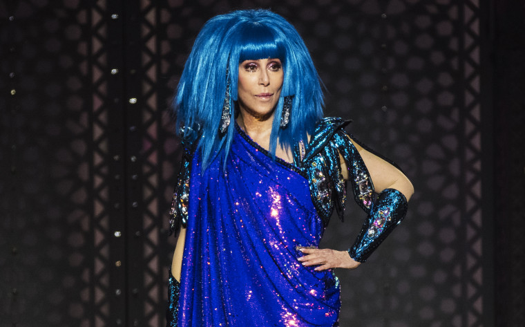 Image: Cher performs live on stage