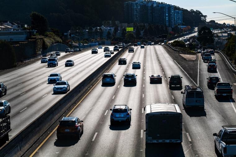 Image: I-80 traffic