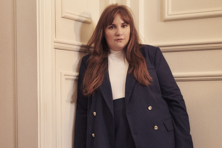 Lena Dunham, 34, launched her first ever fashion line in collaboration with 11 Honore.