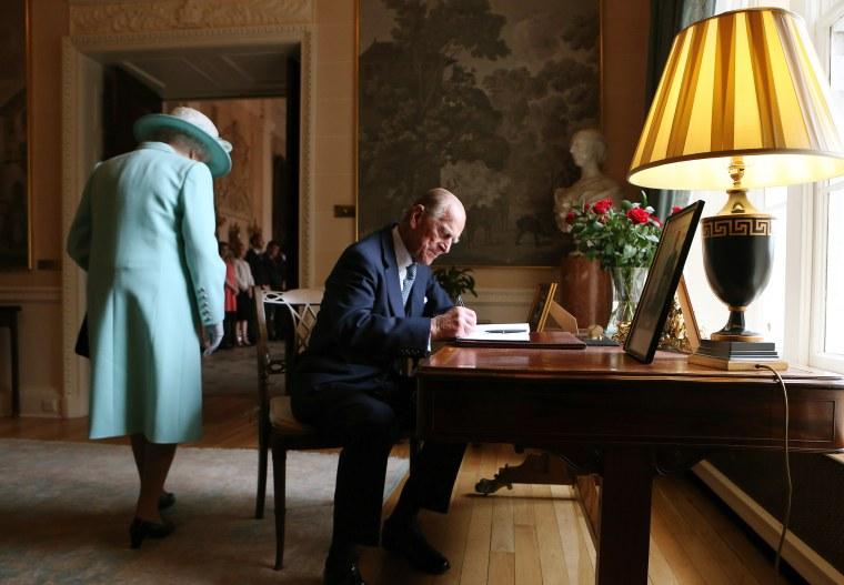 Queen Elizabeth II And Duke Of Edinburgh Visit Northern Ireland - Day 3