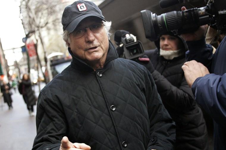 Bernard Madoff in New York (Shannon Stapleton / Reuters file)