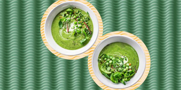 Love split pea soup? Give fresh peas a chance.