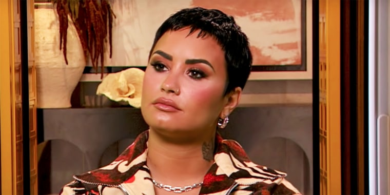 """Demi Lovato appeared on """"The Drew Barrymore Show"""" this week."""