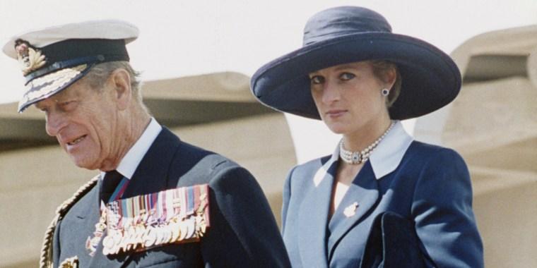 Prince Philip & Diana