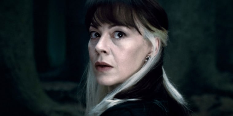 Helen McCrory in Harry Potter and the Deathly Hollows Part 2 in 2011.