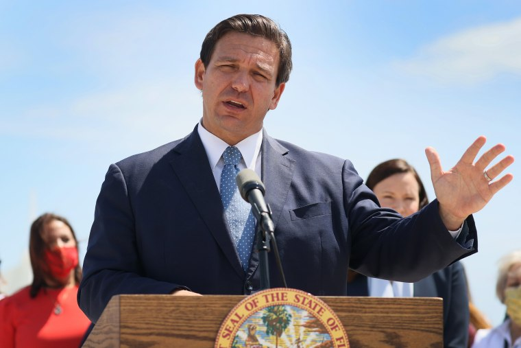 Image: Florida Governor Ron DeSantis Holds News Conference In Miami