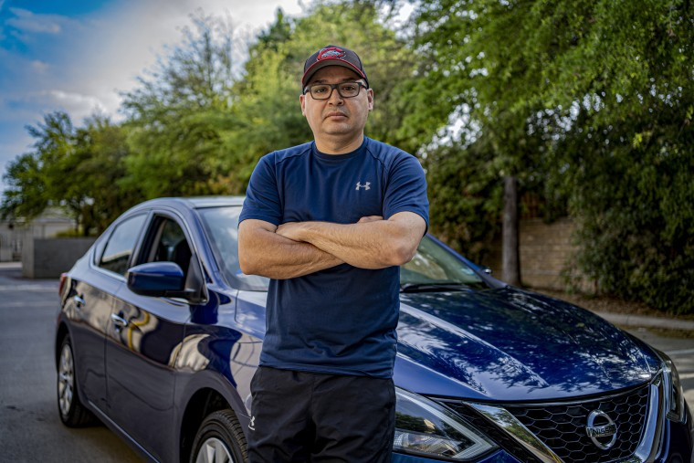 Willy Solis is an Instacart driver in Denton, Texas.