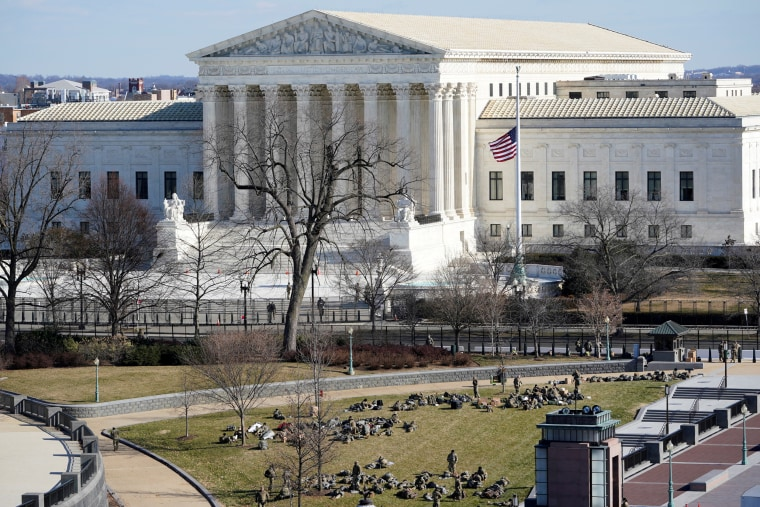 The Supreme Court in Washington on Jan. 19, 2021.