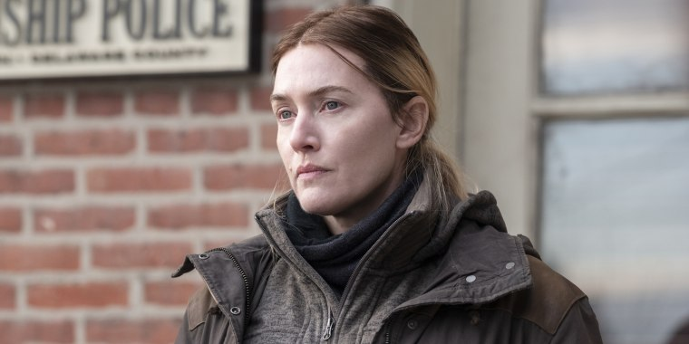 """Kate Winslet as Mare Sheehan in """"Mare of Easttown."""""""