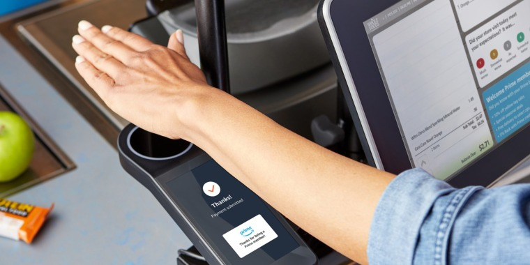 Amazon has said it hopes to sell the palm-scanning technology to other companies like retailers, stadiums and office buildings.
