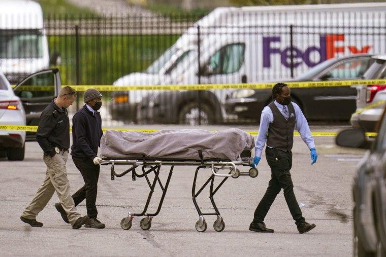 Image: FedEx Ground facility shooting