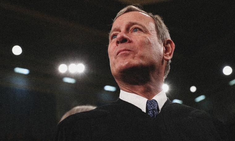 Image: U.S. Supreme Court Chief Justice John Roberts