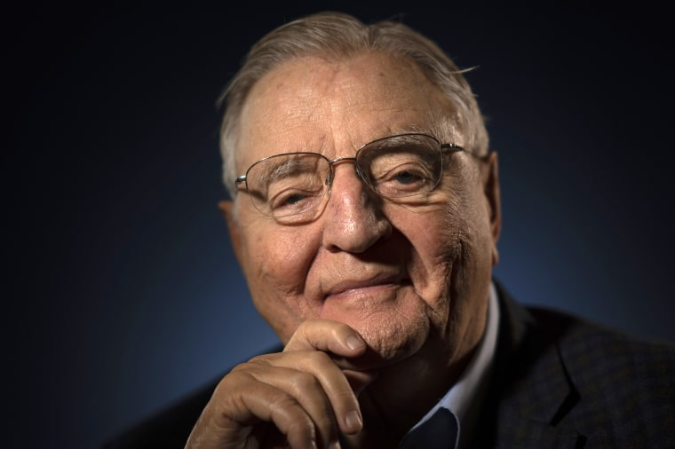 Image: Portrait of Former Vice President Walter F. Mondale