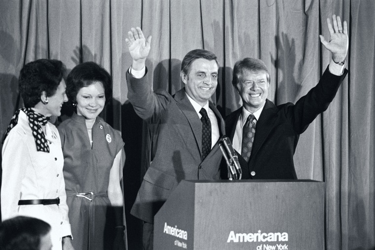 Image: Carter and Mondale with Wives