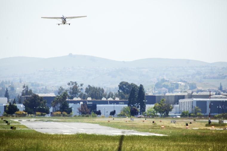 Image: Reid-Hillview Airport in eastern San Jose.