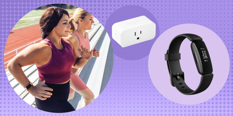 Image of two Woman working out wearing the Fitbit Inspire 2 and a black Fitbit and an Amazon smart plug. Today you'll find sales on the Amazon Smart Plug, Roomba s9+, FitBit Inspire 2 and more. Shop great deals from Amazon, Best Buy, Home Depot and more.