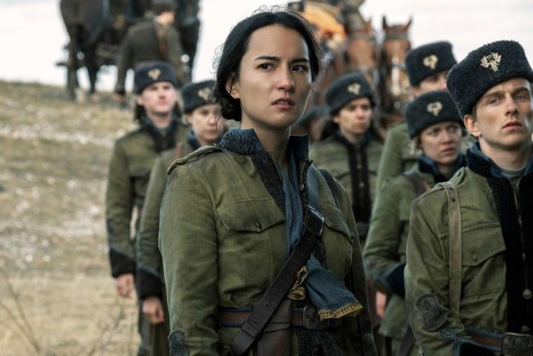 Image: Jessie Mei Li as Alina Starkov in Shadow and Bone