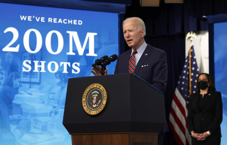 Image: President Biden Delivers Remarks On COVID-19 Response And State Of Vaccinations
