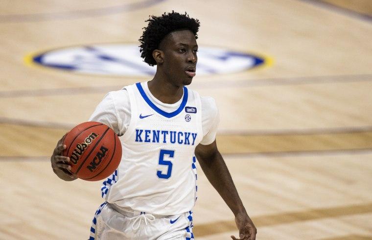 Image: Terrence Clarke obit, SEC Men's Basketball Tournament - Kentucky v Mississippi State