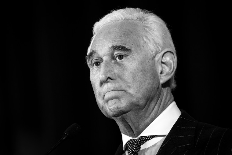 Image: Roger Stone Addresses American Priority Conference In Washington DC