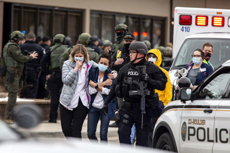 Image: Gunman Opens Fires At Grocery Store In Boulder, Colorado