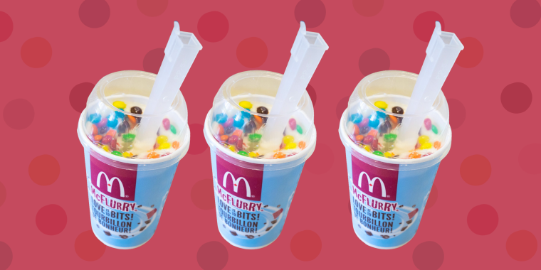 To get the free dessert, you have to download the McDonald's app and then scan the offer code at checkout — no purchase necessary.