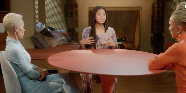 """Willow Smith opened up about being polyamorous in a new episode of """"Red Table Talk."""""""