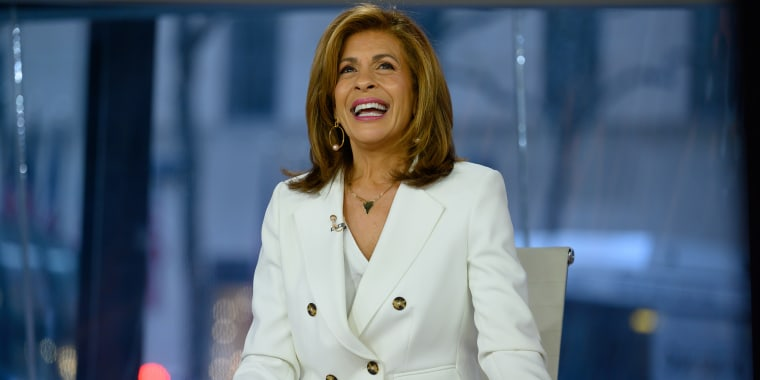 Hoda made a special announcement about her wedding on Thursday's episode of TODAY with Hoda & Jenna.