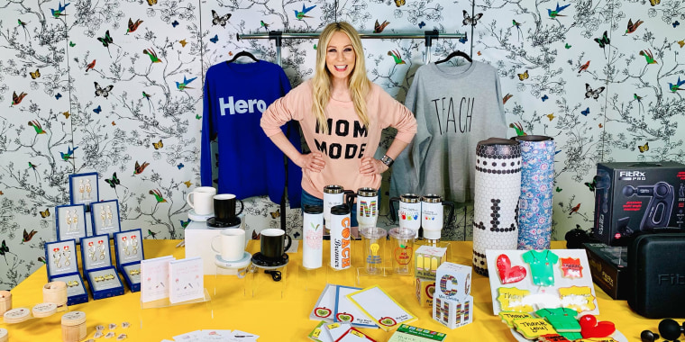 Chassie Post on broadcast sharing her Mother's Day gift picks