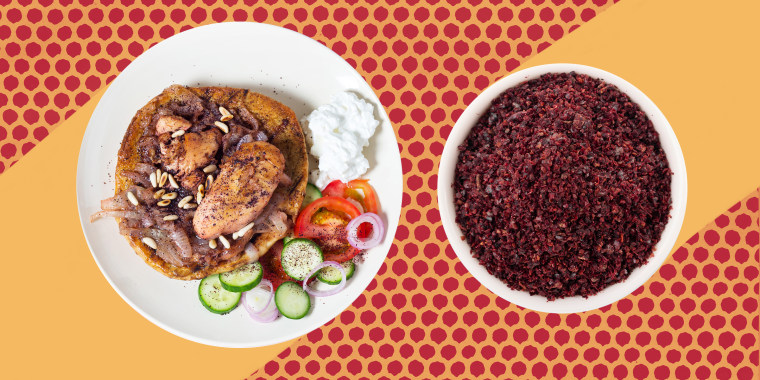 Sumac can be used as the main spice in a marinade or as a finishing spice at the end of cooking a dish.