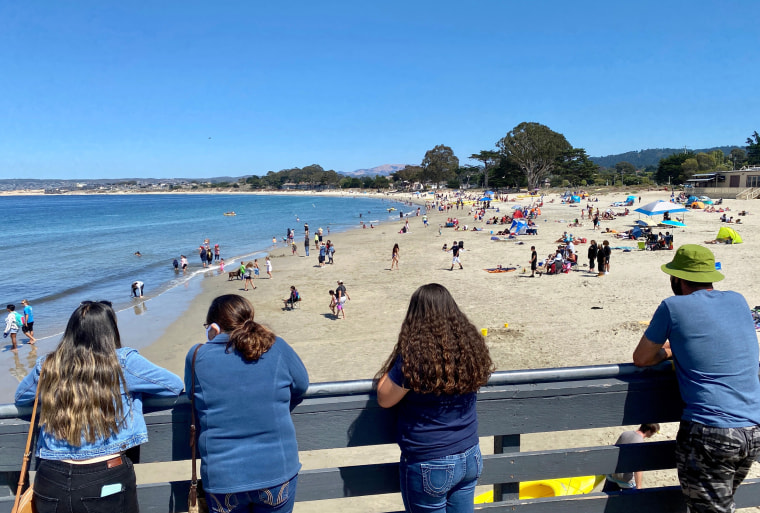 Image: Fisherman's Wharf beach in Monterey