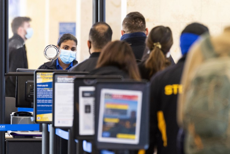 Air travel drops due to COVID-19