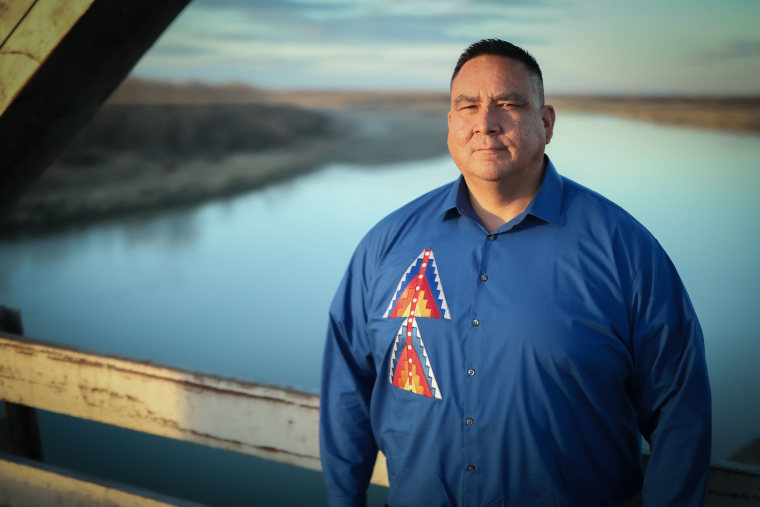 Lance Fourstar, the chairman of Fort Peck Assiniboine Council.