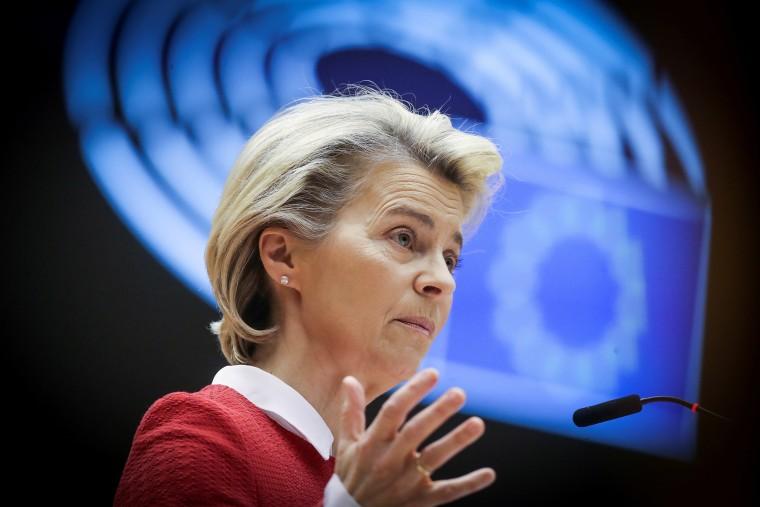Image: European Commission President Ursula von der Leyen.