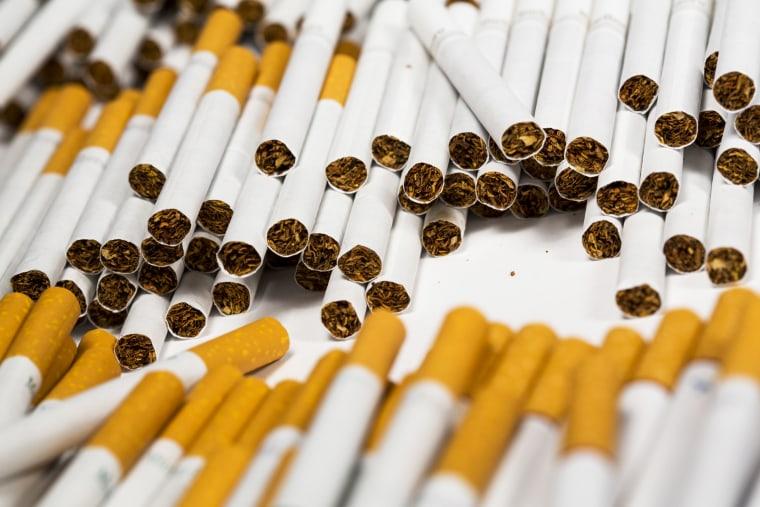 Cigarettes in Washington in 2013.