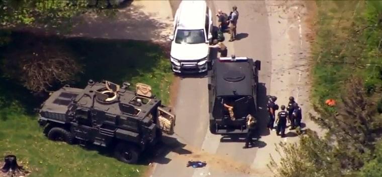 Image: Standoff in Boone North Carolina