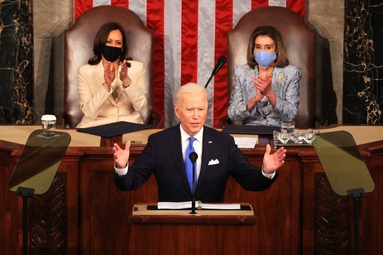 Image: BESTPIX - President Biden Delivers First Address To Joint Session Of Congress