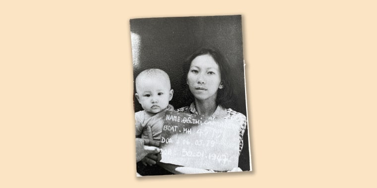 Vicky Nguyen with her mom, who risked everything and fled Vietnam so that Vicky could have a better life in America.