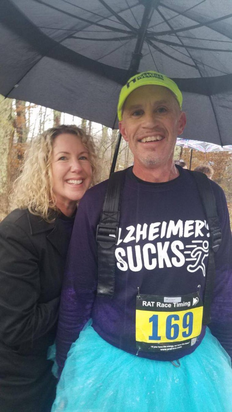 Peter was 53 years old when he was diagnosed with early-onset Alzheimer's.