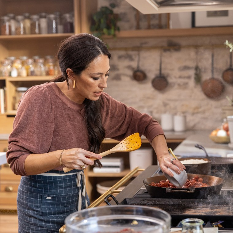 Joanna Gaines cooking