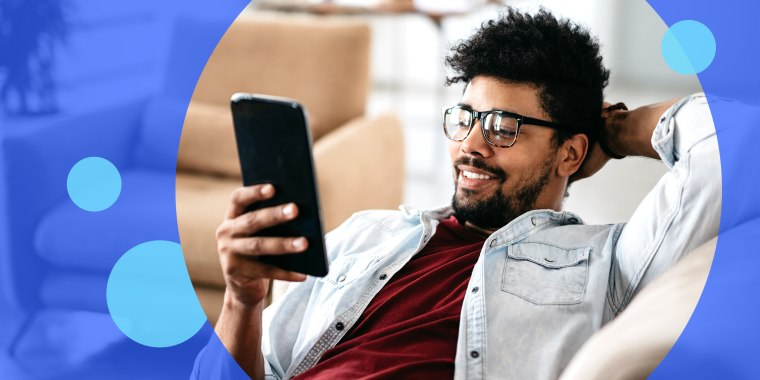 man sitting on couch in living room online shopping on tablet. Read everything we know so far about Amazon Prime Day 2021, including when Amazon Prime Day is happening this year and what Prime Day deals to expect.