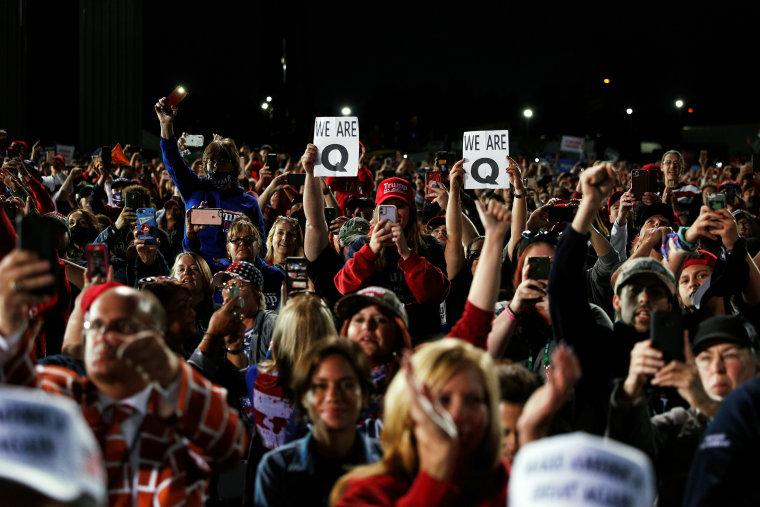 U.S. President Donald Trump campaign rally in Moon Township, Pennsylvania